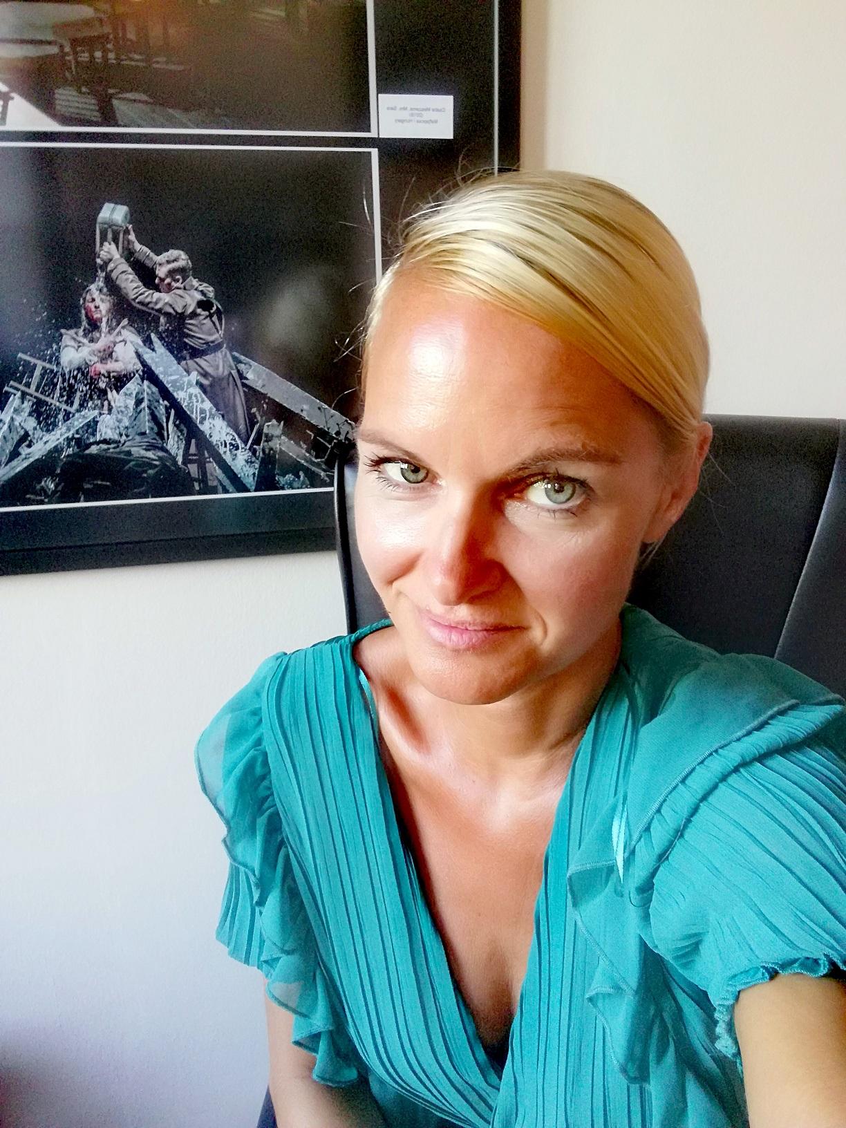 Бојана Тањга, уредница сектора за позоришну међународну сарадњу